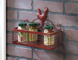 Wholesale Red Rooster Single Wall Rack for sale at bulk cheap prices!