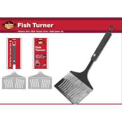 Wholesale Stainless Steel Fish Turner for sale at  bulk cheap prices!