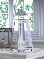 Summit Gray Small Lantern