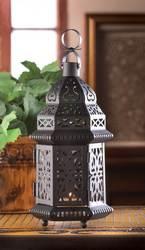 Black Moroccan Style Lantern