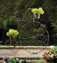 Wholesale Old-Fashioned Bicycle Plant Stand for sale at bulk cheap prices!