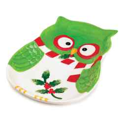 Wholesale Holiday Hoot Large Plate for sale at  bulk cheap prices!