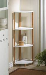 Wholesale Bamboo Corner Shelf for sale at bulk cheap prices!