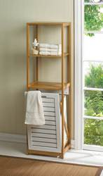 Wholesale Bamboo Hamper Shelf for sale at bulk cheap prices!