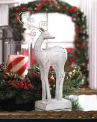 Wholesale Dasher Reindeer Statue for sale at  bulk cheap prices!