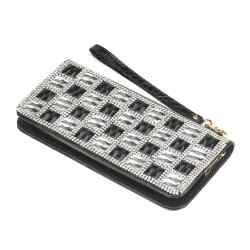 Wholesale Checker Crystal Wallet for sale at bulk cheap prices!