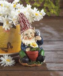 Wholesale Gardening Gnome Solar Statue For Sale At Bulk Cheap Prices!