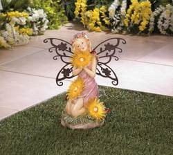 Wholesale Garden Fairy Solar Statue for sale at bulk cheap prices!