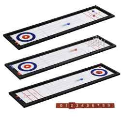 Mini Bowling And Shuffleboard Set