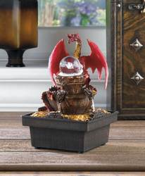 Wholesale Red Dragon Tabletop Fountain for sale at bulk cheap prices!