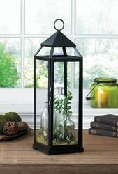 Wholesale XL Black Contemporary Lantern for sale at bulk cheap prices!