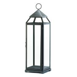 Wholesale XL Brushed Silver Lantern for sale at  bulk cheap prices!