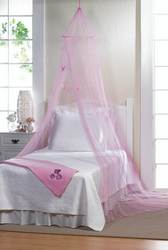 Wholesale Pink Butterfly Bed Canopy for sale at bulk cheap prices!
