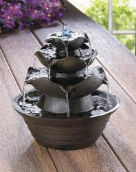 Wholesale Lotus Tabletop Water Fountain for sale at bulk cheap prices!
