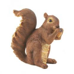 Wholesale Nibbling Squirrel Garden Statue for sale at  bulk cheap prices!