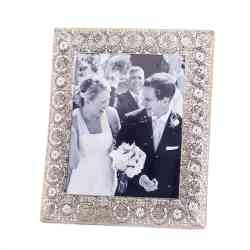 Wholesale Silver Medallion 8X10 Photo Frame for sale at bulk cheap prices!