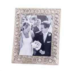 wholesale silver medallion 8x10 photo frame