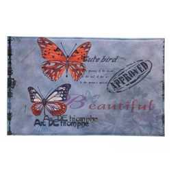 Artistic Butterfly Floor Mat