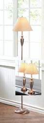 Antique Copper Lamp Trio