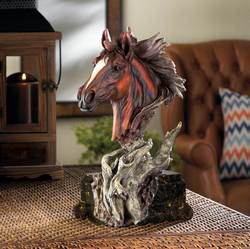 Wholesale Driftwood Stallion Sculpture for sale at bulk cheap prices!