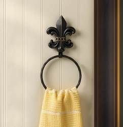 41e4440315f50 Wholesale Fleur-De-Lis Towel Ring for sale at bulk cheap prices!