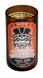 Amber Lager Beer Scented Candle