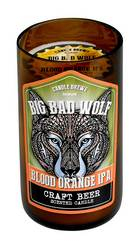 Blood Orange Ipa  Beer Scented Candle