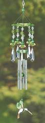 Wholesale Green Hummingbird Chime for sale at bulk cheap prices!
