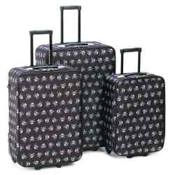 Wholesale Stylish Skull Luggage Trio for sale at  bulk cheap prices!