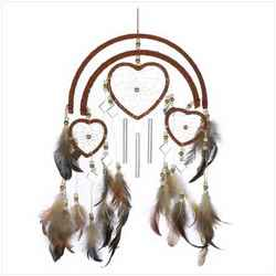 Wholesale Dreamcatcher Heart Windchime for sale at  bulk cheap prices!