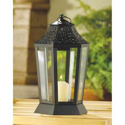 Midnight Garden Candle Lantern