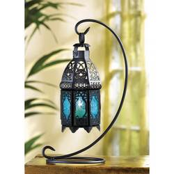 Wholesale Sapphire Nights Hanging Lantern for sale at bulk cheap prices!