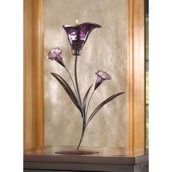 Twilight Bloom Tealight Holder