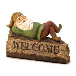 Wholesale Sleepy Gnome Welcome Sign for sale at bulk cheap prices!