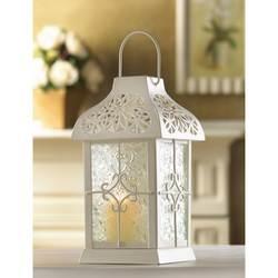 Wholesale Daisy Gazebo Candle Lantern for sale at bulk cheap prices!