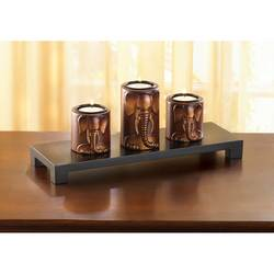 Wholesale Elephant Trio Candleholders for sale at bulk cheap prices!