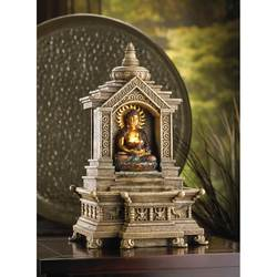 Wholesale Golden Buddha Temple Fountain for sale at bulk cheap prices!