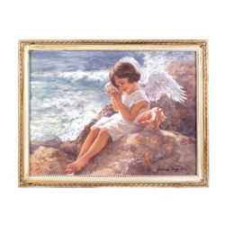 Seaside Angel Wall Art
