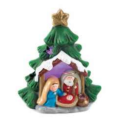 Wholesale Light-Up Nativity Tree Decor for sale at  bulk cheap prices!
