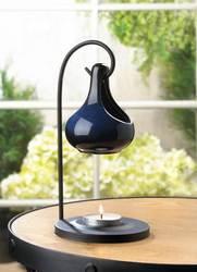 Wholesale Blue Tear Drop Oil Warmer for sale at  bulk cheap prices!