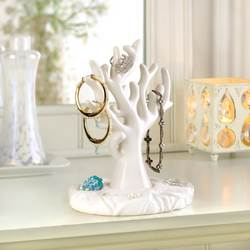 Wholesale White Coral Jewelry Holder for sale at bulk cheap prices!