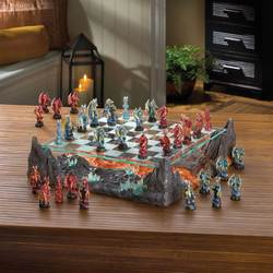 Colorful Dragon Chess Set
