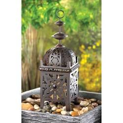 Wholesale Metal Morrocan Style Lantern Candle Lantern for sale at bulk cheap prices!