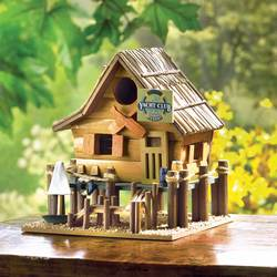 Wholesale Yacht Club Birdhouse for sale at bulk cheap prices!
