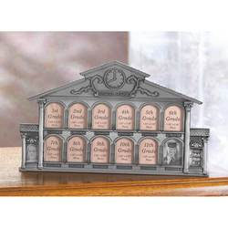 Wholesale Pewter School House 13-Photo Frame for sale at bulk cheap prices!