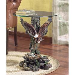 Eagle Glass-Top Table
