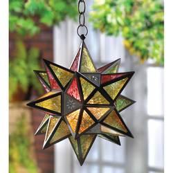 Star-Shaped Candle Lantern
