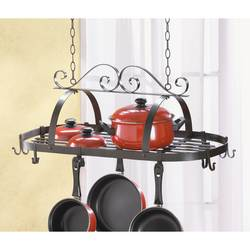 Hanging Iron Pot Holder