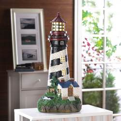 Wholesale Lighthouse Solar Lamp for sale at bulk cheap prices!