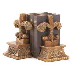 Wholesale Fleur-de-lis Bookends for sale at bulk cheap prices!